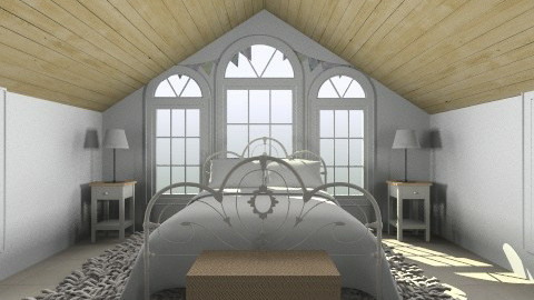 Bedroom ran bedroom - Rustic - Bedroom  - by yoban