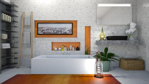 Bathroom - Minimal - Bathroom  - by rungsimas