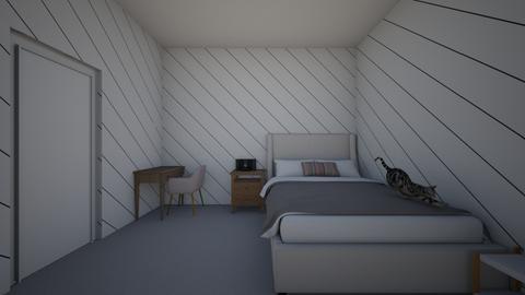 Room - Modern - Bedroom  - by ebae2131