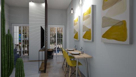 teste apto studio - Modern - Living room - by Cristiane Lichotto