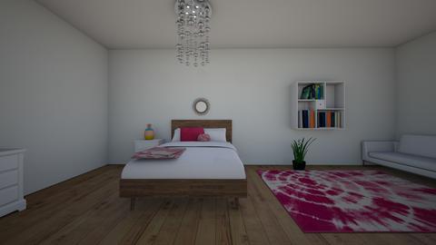 white bedroom - Bedroom - by ellen_brooklyn