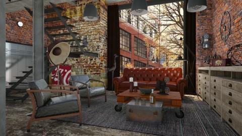 Coca cola - Vintage - Living room  - by Liu Kovac