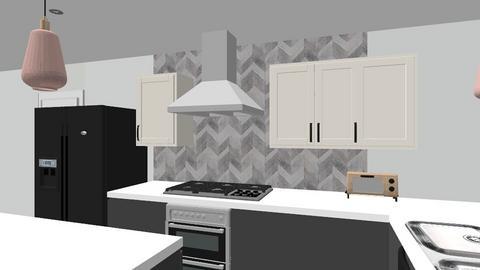 Kitch v8 paint walls - Kitchen  - by kurtwise