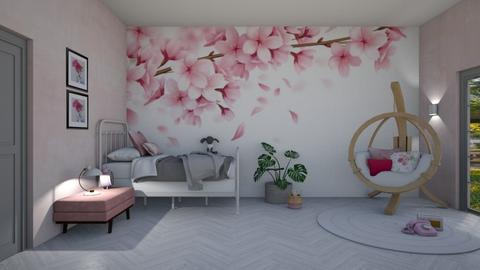 Bedroom flower - Kids room  - by Ontwerpstudio34