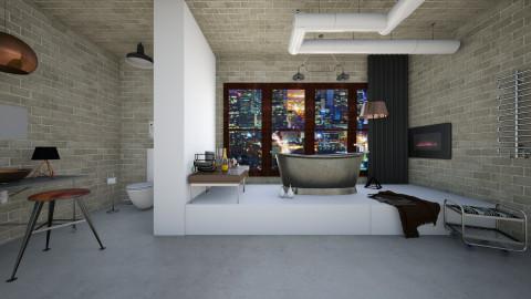 urban mod - Modern - Bathroom  - by rachelmarieknepp