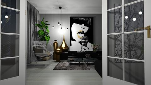 Tom Dixon - Minimal - Living room  - by LuzMa HL