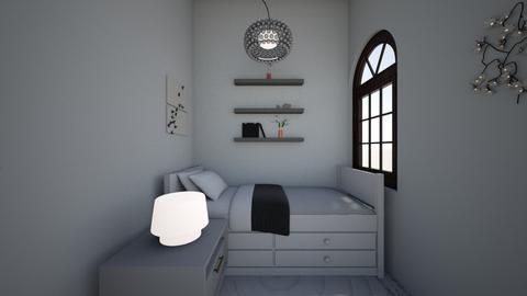 Bedroom part of office - Modern - Office  - by Gumpeee