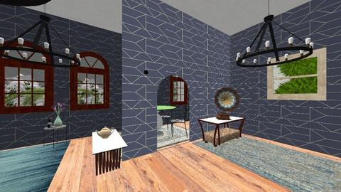 Blue - Dining room - by Sonnet