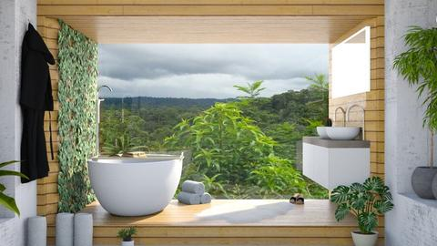 Urban Jungle Bathroom - Bathroom  - by ArtHousedeco