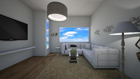 desert ocean theme - Living room  - by XenaChico