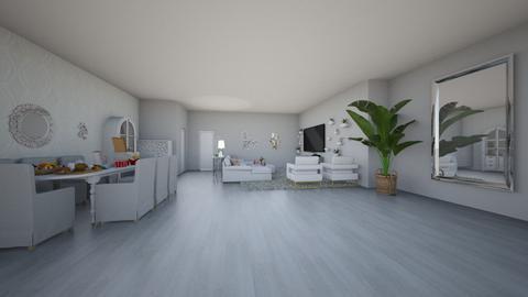 girls night in - Living room  - by 7087755443
