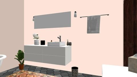 pink - Eclectic - Bathroom  - by katelynmorgan03
