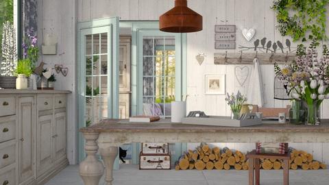zu Hause - Kitchen  - by Mum Dali