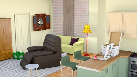 Joey's Apartment - Modern - by ilikalle