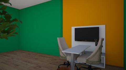Jason Junge - Modern - Office - by Gamer_jong