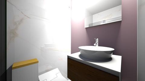 Lazienka dol Mickiewicza1 - Bathroom  - by asiaczerniawska