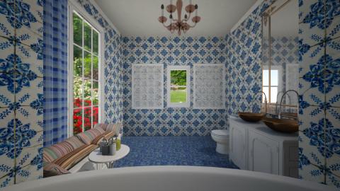 Ornate bathroom - Classic - Bathroom  - by lovemyboy1