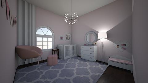 girls nursery home - Modern - Kids room  - by jade1111