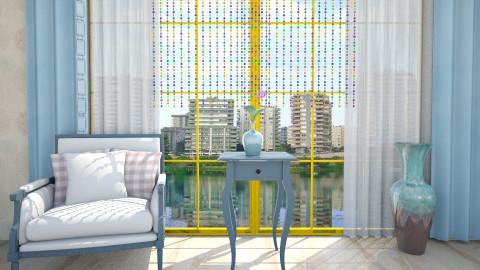 blue - Living room  - by Mehmet Durmus