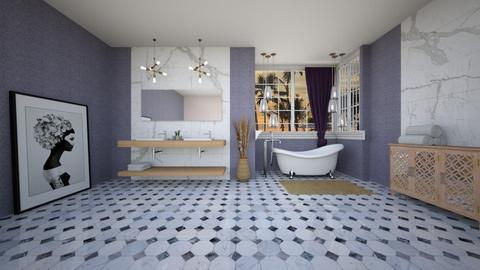 baie shabby chic - Bathroom  - by magdasmo