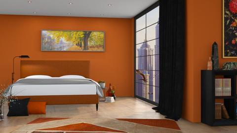 A u t u m n - Bedroom  - by eymuuuch
