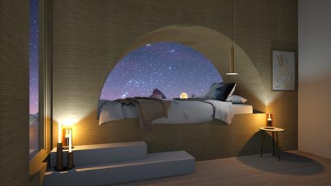 Cosy bedroom - Modern - Bedroom  - by Louisa caulton