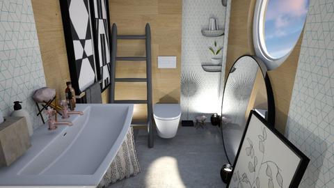 Arty toilet - Bathroom  - by Meghan White
