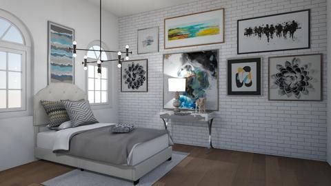Bedroom Bliss - Bedroom  - by LittleLlamaBlast333