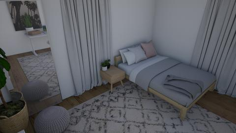 Modern Bohemian Room - Modern - Bedroom - by 21harpm