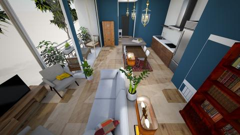 west wall view - Living room  - by condo1234