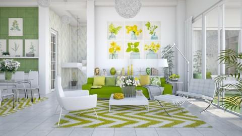 Green Yellow - by Ania Daliva