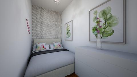 Purple flower - Classic - Bedroom  - by Twerka