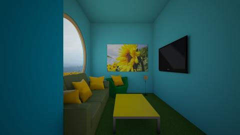 Sunflower Room - Living room  - by SofiGotStyle