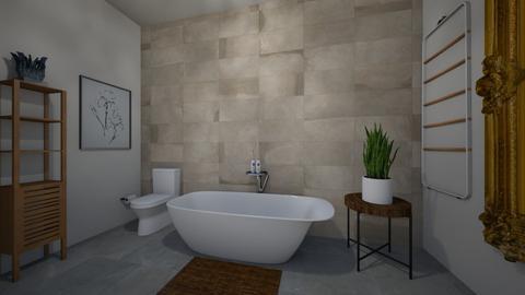 Final project bathroom - Bathroom - by clarainteriordesign