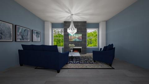 The Perfect Rug - Living room  - by Idkwhy