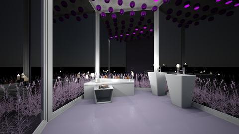 Lavender Bathroom - Bathroom - by Izabel_M