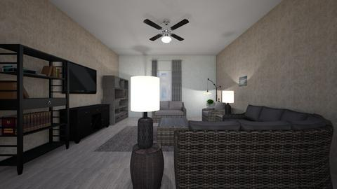 Grey Flat - Living room  - by mspence03