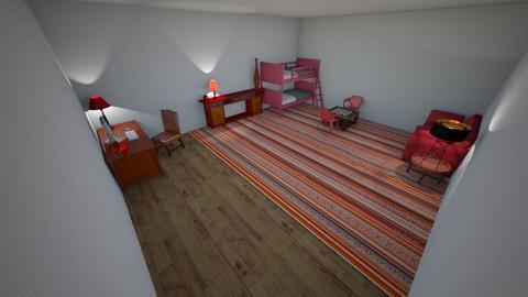 Wild West Theme - Country - Bedroom  - by KWieczorek5184