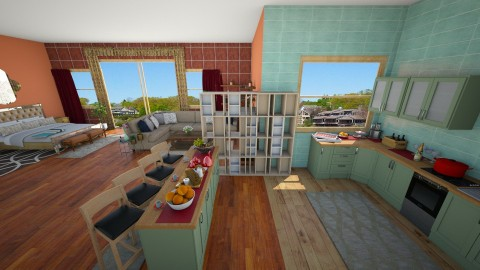open plan appartment 5 - by Suzanne Hoskins