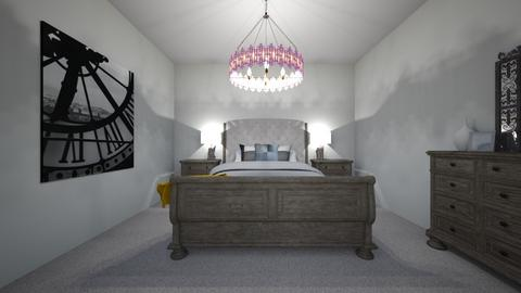 rustic farmhouse  - Rustic - Bedroom  - by ash04