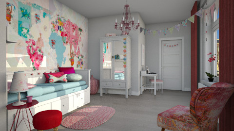 Van Sand - Kids room  - by MandyB84