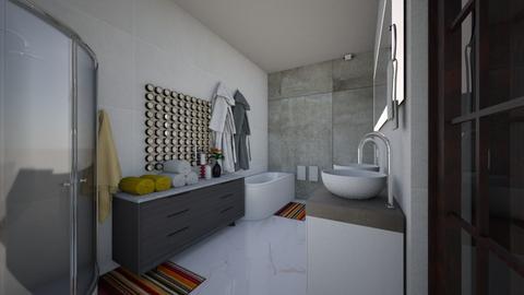 SnJensuite1 - Modern - Bathroom  - by Stephanie Felix
