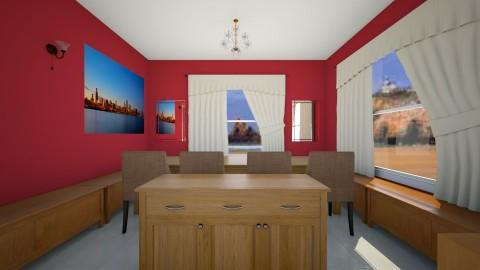 Tim Dine - Dining room - by Tiachiel