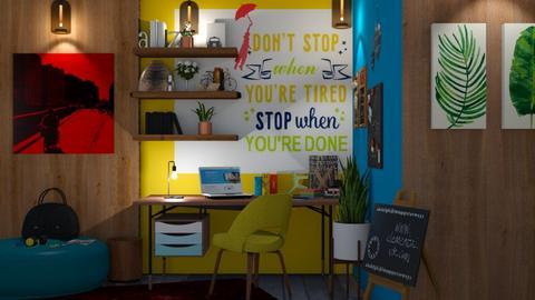 GYB workplace - Office  - by snjeskasmjeska