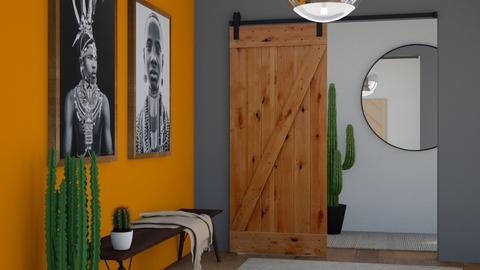 Desert Greeting Hallway - by FANGIRLdesigner