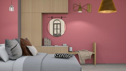 Rustic Pink - Bedroom  - by Niva T