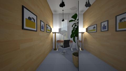 Zen_guest room2 - Office  - by lovasemoke