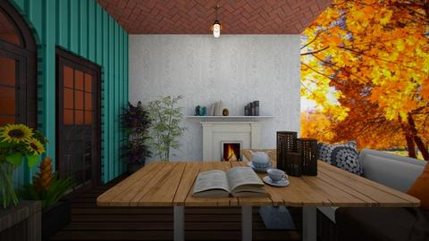 Small Living Patio - Garden  - by PAPIdesigns