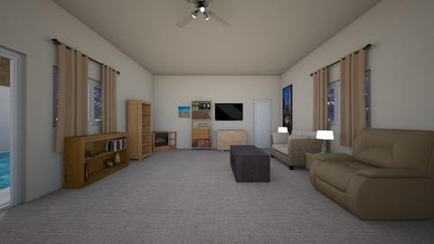 Hillside Home - Living room  - by mspence03