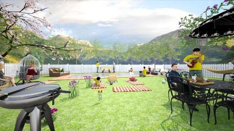 summer fest - Modern - Garden  - by lamzoi